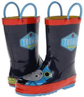 Western Chief Thomas Blue Engine Rainboot Boys Shoes