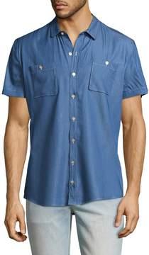 Parke & Ronen Men's Lightweight Cotton Sportshirt