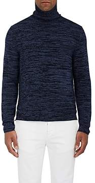 Massimo Alba Men's Mélange Cashmere Turtleneck Sweater