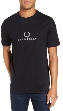 Fred Perry Men's Tennis Graphic T-Shirt