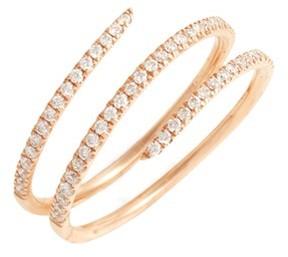 Bony Levy Women's Diamond Coil Ring (Nordstrom Exclusive)