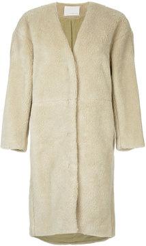 ESTNATION panelled coat