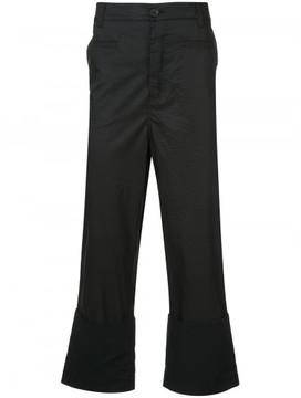 Loewe Fisherman flared cropped trousers