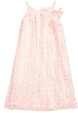 Epic Threads Heart-Print Chiffon Dress, Big Girls (7-16), Created for Macy's