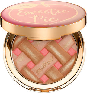 Too Faced Sweetie Pie Bronzer Radiant Matte Bronzer-- Peaches and Cream Collection