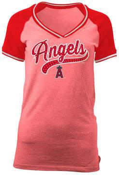 5th & Ocean Women's Los Angeles Angels of Anaheim Rhinestone Night T-Shirt