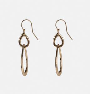 Avenue Teardrop Chain Link Drop Earrings