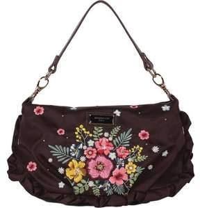 Nicole Lee Adira Embroidery Garden Mini Handbag (Women's)