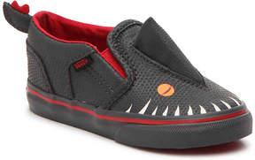 Vans Asher V Infant & Toddler Slip-On Sneaker - Boy's