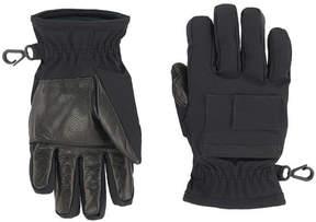 Moncler Bi-material gloves