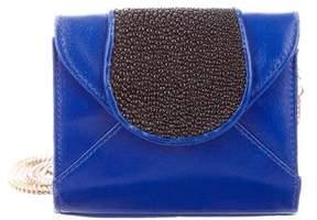 Khirma Eliazov Leather & Stingray Shoulder Bag