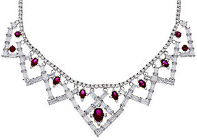 Elizabeth Taylor The 6.40cttw Legacy of Love Simulated Ruby Necklace