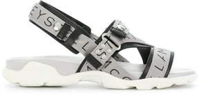 Stella McCartney Stella Logo strap sandals