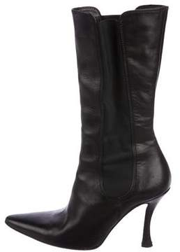Walter Steiger Leather Mid-Calf Boots