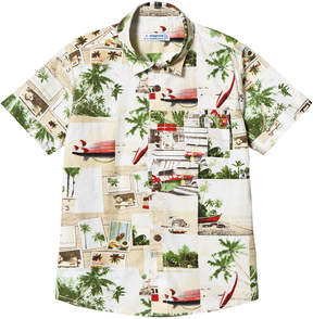 Mayoral Hawaiian Surf Print Shirt