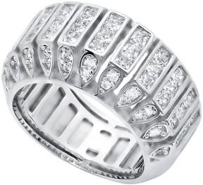 Crislu Channel Set CZ Eternity Band Ring