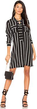 1 STATE Lace Up Shift Dress