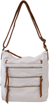 Bueno Of California Bueno Two-Tone Crossbody Bag