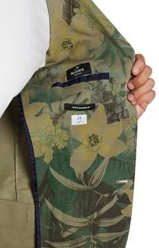 Mason Floral Front Button Blazer