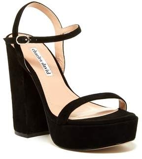 Charles David Regal Platform Sandal