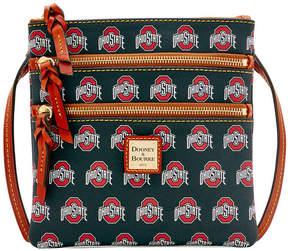 Dooney & Bourke NCAA Ohio State Triple Zip Crossbody - OHIO STATE - STYLE