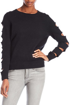 Cliche Cutout Sleeve Sweater