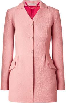 Emilia Wickstead Patrona Cloqué Blazer - Pink