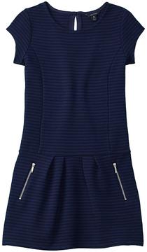 Nautica Girls' Drop-Waist Dress