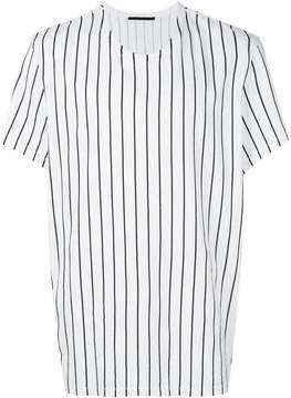 Haider Ackermann striped round-neck T-shirt