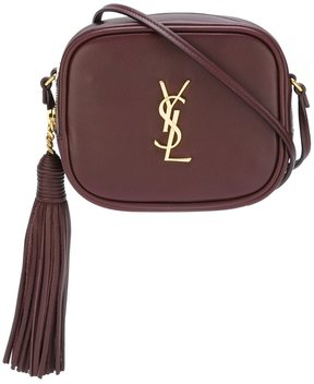 Saint Laurent Monogram Blogger crossbody bag - PINK & PURPLE - STYLE