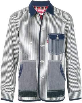 Junya Watanabe X Levi's striped denim jacket