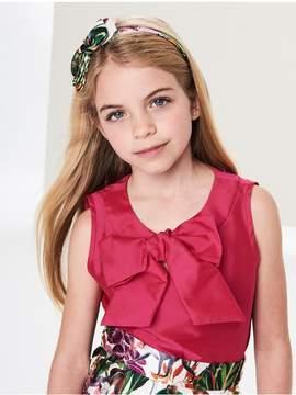 Oscar de la Renta Kids Kids | Taffeta Bow Blouse | 8 years