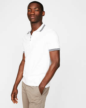 Express Pique Tipped Polo