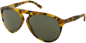 Polo Ralph Lauren Sunglasses - Ph4056P / Frame: Blonde Havana Lens: Green