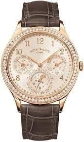 Patek Philippe Grand Complications White Opaline Dial Automatic Ladies Perpetual Calendar Watch -001