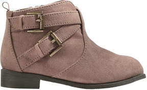 Joe Fresh Toddler Girls' Ankle Boots, Taupe (Size 7)
