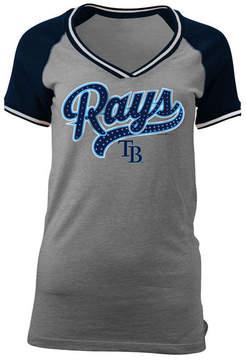 5th & Ocean Women's Tampa Bay Rays Rhinestone Night T-Shirt