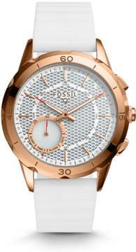 Fossil Hybrid Smartwatch - Q Modern Pursuit White Silicone