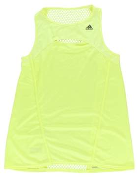 adidas Womens Climacool Tank Top Neon Yellow L