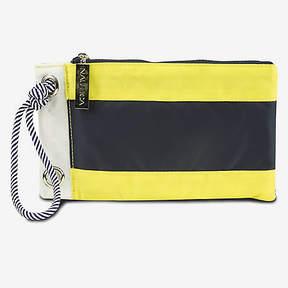 Nautica Signal Flag Wristlet - Yellow & Navy