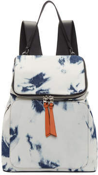 Loewe Blue Denim Goya Backpack