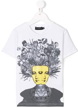 John Richmond Kids two face print T-shirt