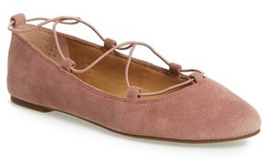 Lucky Brand Women's 'Aviee' Lace-Up Flat