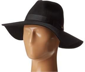 San Diego Hat Company WFH8049 Wide Flat Brim Fedora Fedora Hats