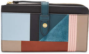 Fossil Fiona Patchwork Tab Wallet