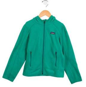 Patagonia Girls' Hooded Fleece Jacket