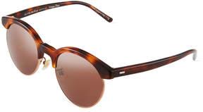 Oliver Peoples Ezelle 51 Semi-Rimless Sunglasses