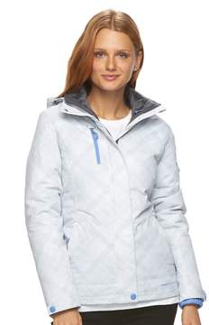 Free Country Women's Hooded Plaid Systems Jacket