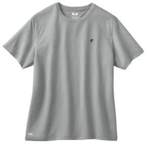 Fila Mens Basic Logo Graphic T-Shirt Grey S