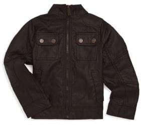 Urban Republic Little Boy's Faux Leather Pocket Jacket